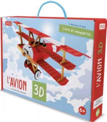VOYAGE, DECOUVRE, EXPLORE  -  L'AVION 3D  -  L'HISTOIRE DE L'AVIATION TOME/MANUZZATO NC