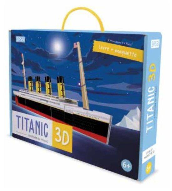 VOYAGE, DECOUVRE, EXPLORE  -  LE TITANIC 3D  -  L'HISTOIRE DU TITANIC FACCI/MANUZZATO NC