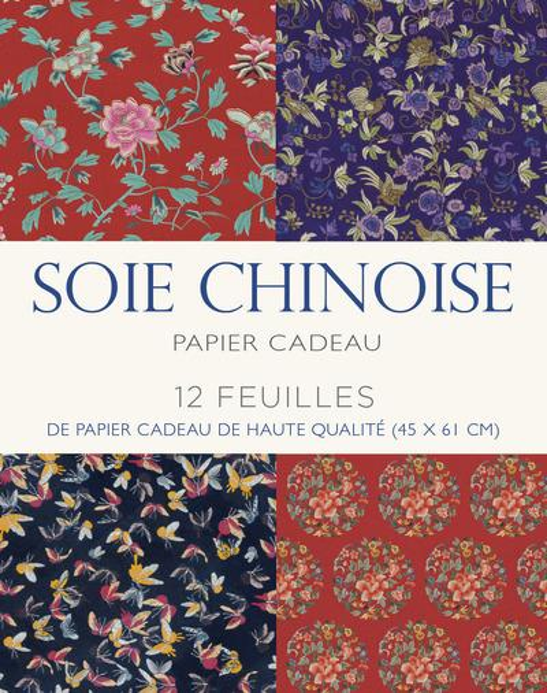 SOIE CHINOISE  -  PAPIER CADEAU COLLECTIF Ed. White star
