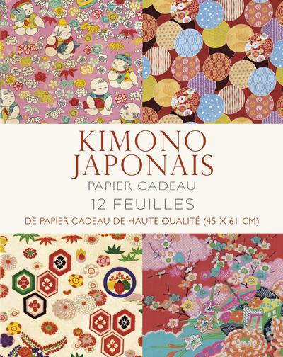 KIMONO JAPONAIS - PAPIER CADEA COLLECTIF WHITE STAR