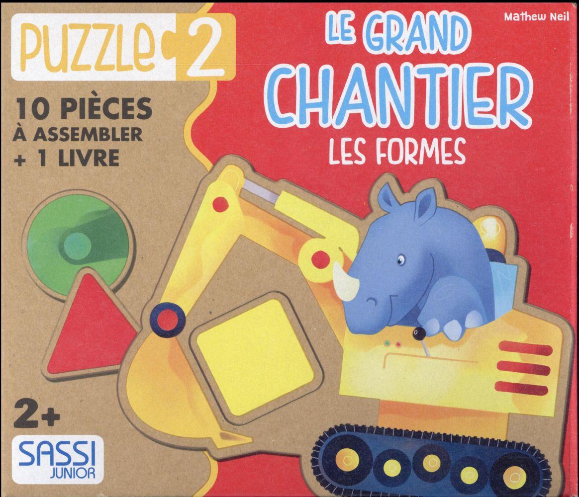 PUZZLE 2 - LE GRAND CHANTIER. LES FORMES