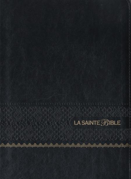 LA SAINTE BIBLE - BIBLE SEGOND 1910 GROS CARACTERES SIMILICUIR