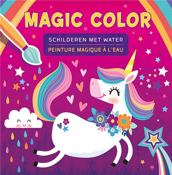 MAGIC COLOR  -  PEINTURE MAGIQUE A L'EAU COLLECTIF NC