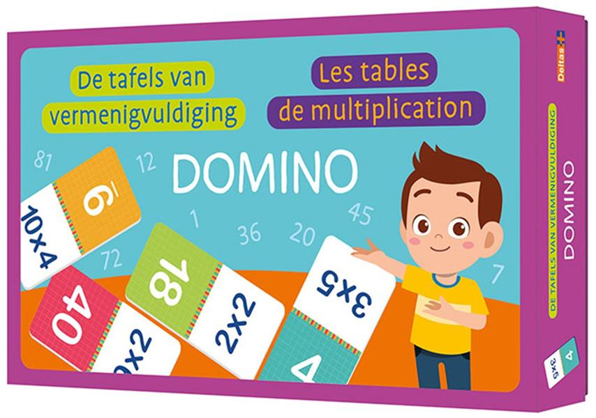 DOMINO - LES TABLES DE MULTIPL COLLECTIF NC