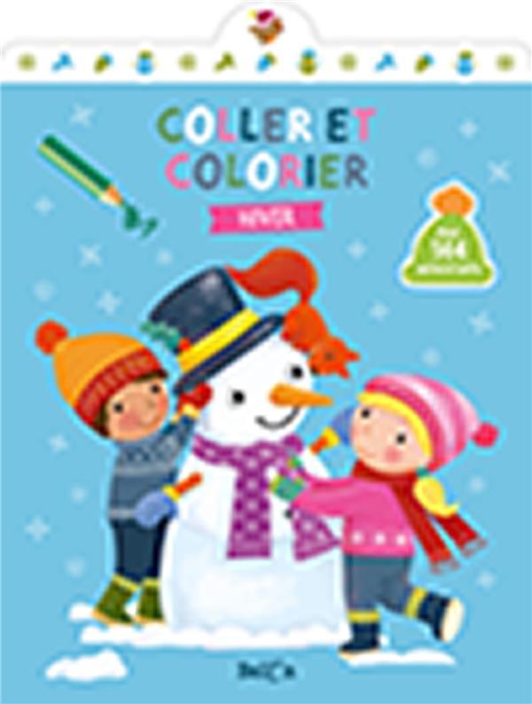 COLLE ET COLORIE  -  HIVER XXX NC