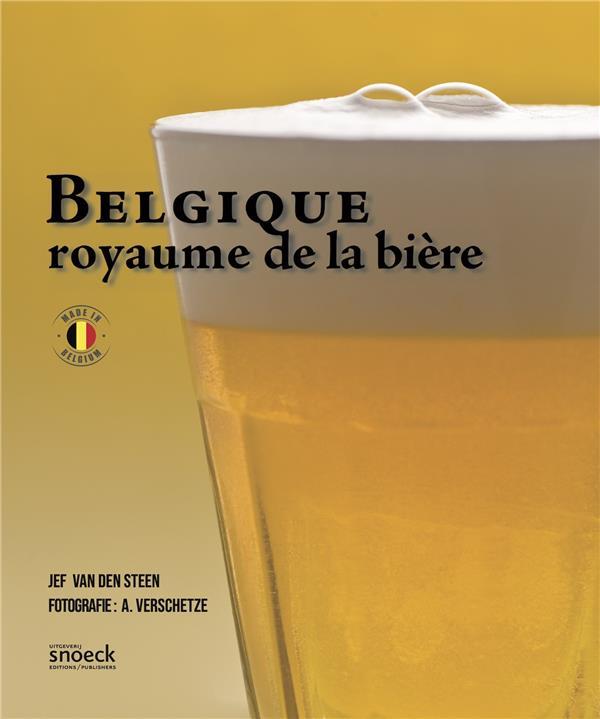 BELGIQUE, ROYAUME DE LA BIERE VAN DEN STEEN NC
