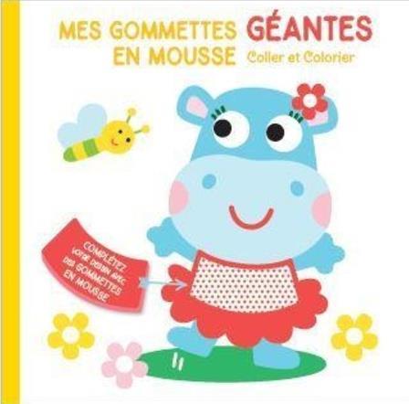 MES GOMMETTES GEANTES EN MOUSSE  -  HIPPOPOTAME COLLECTIF NC