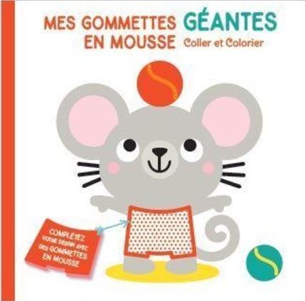 MES GOMMETTES GEANTES EN MOUSSE  -  SOURIS COLLECTIF NC