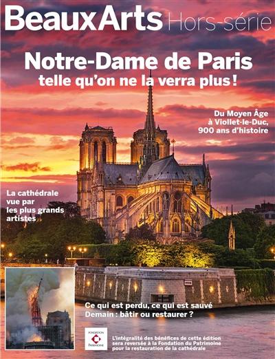 Notre-dame De Paris telle qu'on ne la verra plus!
