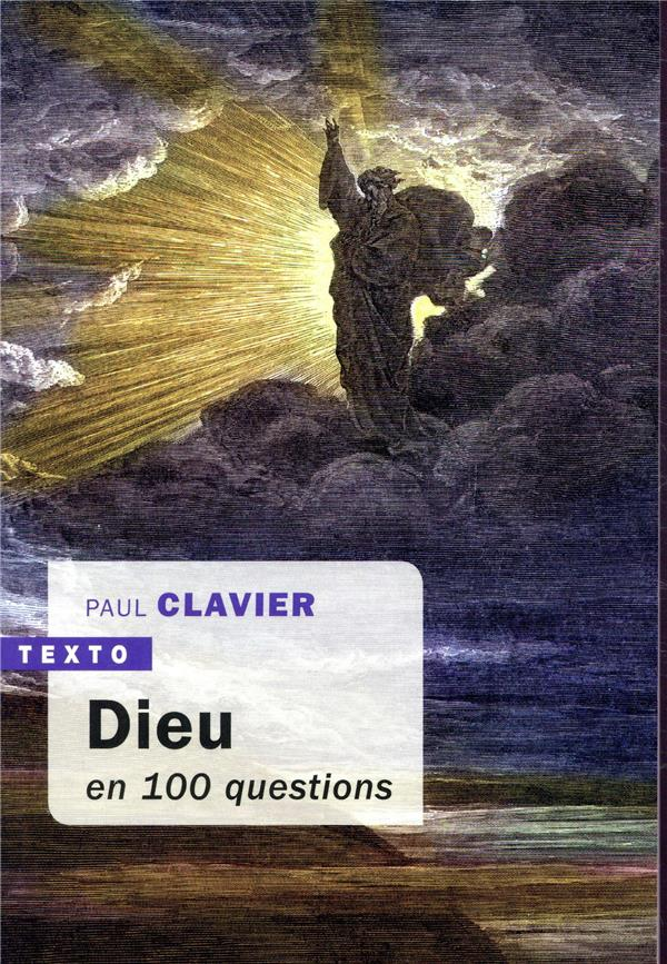 DIEU EN 100 QUESTIONS CLAVIER PAUL TALLANDIER