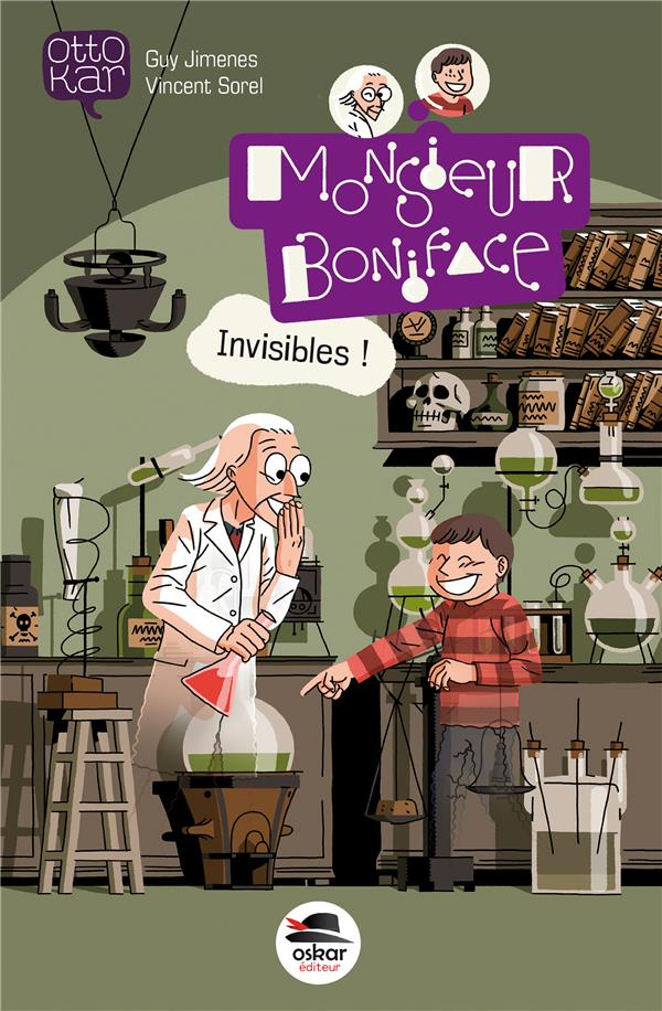MONSIEUR BONIFACE  -  INVISIBLES ! Jimenes Guy Oskar