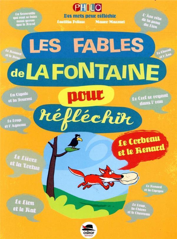 LES FABLES DE LA FONTAINE POUR REFLECHIR