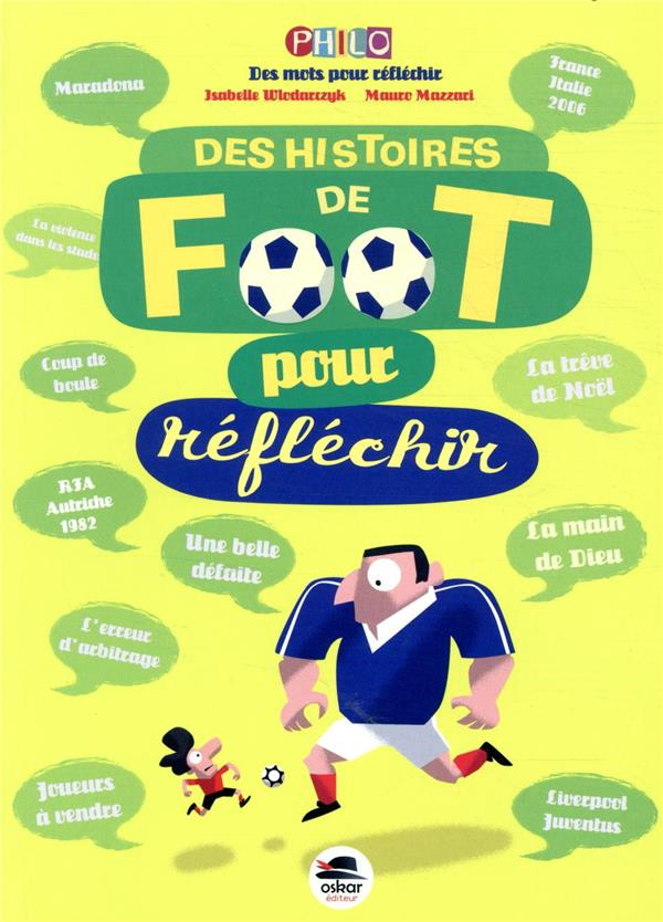 DES HISTOIRES DE FOOT POUR REFLECHIR