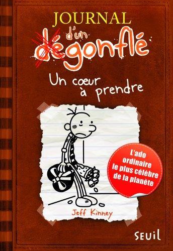 JOURNAL D'UN DEGONFLE T.7  -  UN COEUR A PRENDRE Kinney Jeff Seuil Jeunesse