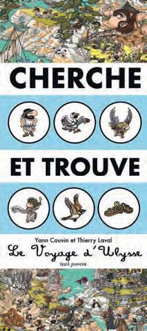 CHERCHE ET TROUVE  -  LE VOYAGE D'ULYSSE COUVIN/LAVAL SEUIL JEUNESSE