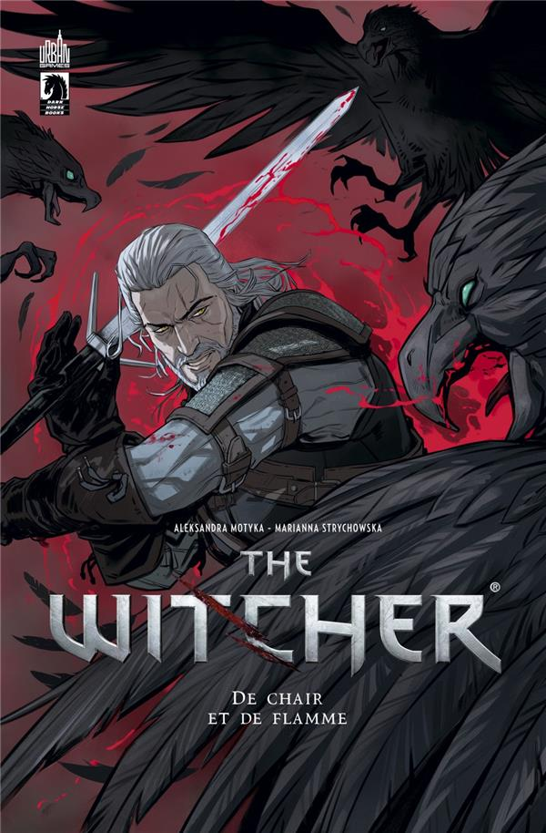 THE WITCHER  -  DE CHAIR ET DE FLAMME TOBIN, PAUL  URBAN COMICS