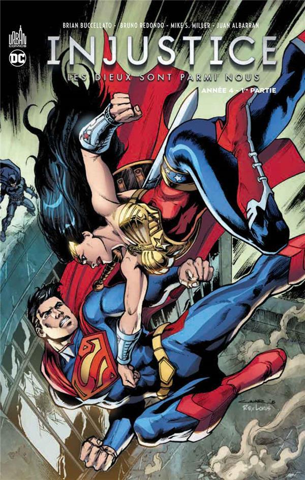 INJUSTICE  -  LES DIEUX SONT PARMI NOUS T.7  -  ANNEE 4 T.1 Taylor Tom Urban comics