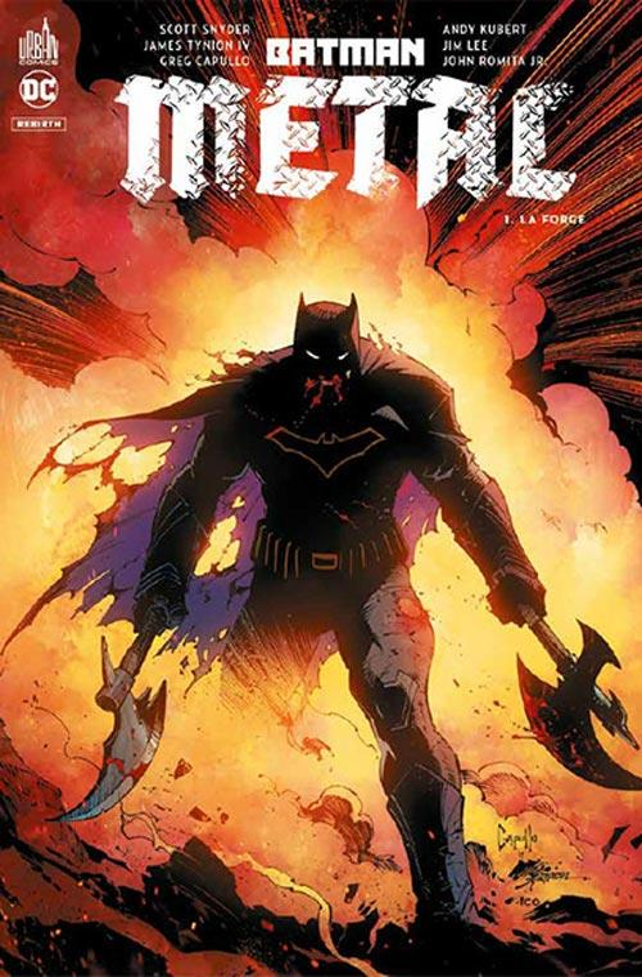 BATMAN METAL TOME 1 XXX URBAN COMICS