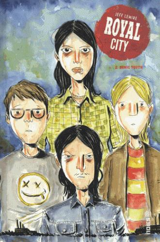 ROYAL CITY T.2  -  SONIC YOUTH XXX URBAN COMICS