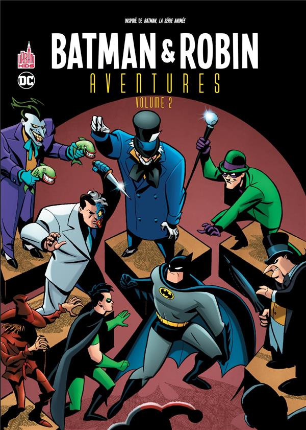 BATMAN & ROBIN AVENTURES TOME 2 XXX URBAN COMICS