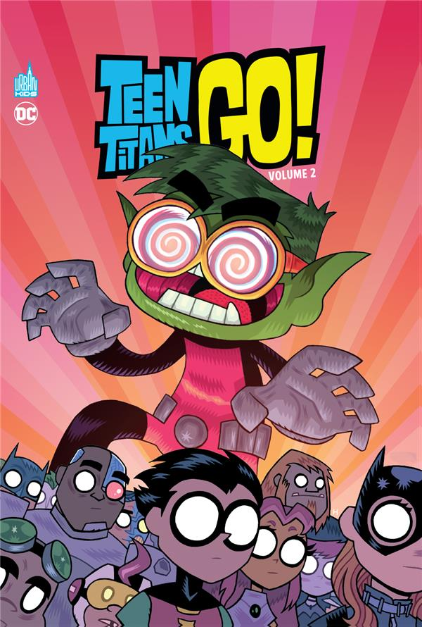 TEEN TITANS GO ! VOLUME 2 XXX URBAN COMICS