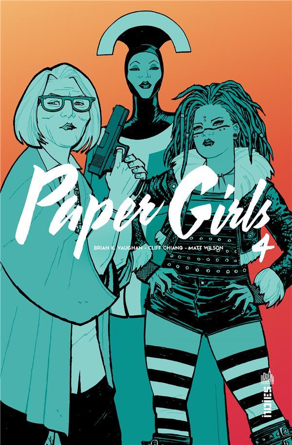 PAPER GIRLS T.4 VAUGHAN, BRIAN K.  URBAN COMICS