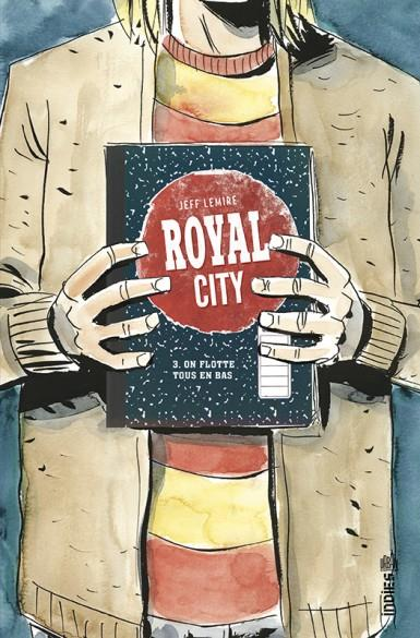 ROYAL CITY T.3 LEMIRE, JEFF  URBAN COMICS