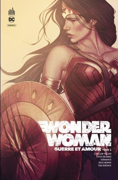 WONDER WOMAN - GUERRE ET AMOUR T.2 WILSON, G. WILLOW  NC