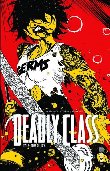 DEADLY CLASS T.8 REMENDER  RICK URBAN COMICS