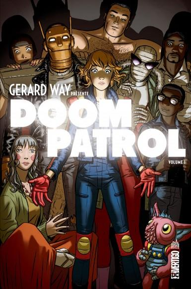 GERARD WAY PRESENTE DOOM PATROL WAY, GERARD  URBAN COMICS