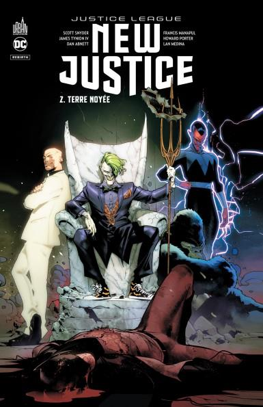 NEW JUSTICE T.2  -  TERRE NOYEE SNYDER, SCOTT  URBAN COMICS