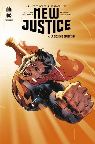 NEW JUSTICE T.4  -  LA SIXIEME DIMENSION  SNYDER, SCOTT  URBAN COMICS