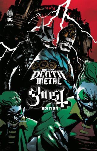 BATMAN DEATH METAL - EDITION S - BATMAN DEATH METAL #2 GHOST EDITION, TOME 2  EDITION SPECIALE, LIM   NC