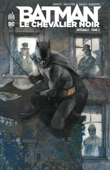 BATMAN - LE CHEVALIER NOIR  -  INTEGRALE VOL.2 HURWITZ, GREGG  URBAN COMICS