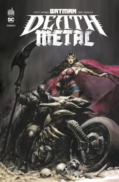 BATMAN DEATH METAL TOME 1 SNYDER, SCOTT NC