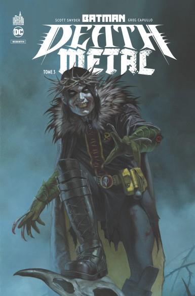BATMAN - DEATH METAL T.3 SNYDER, SCOTT  URBAN COMICS