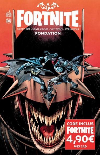 BATMAN FORTNITE - BATMANFORTNITE FONDATION GAGE CHRISTOS URBAN COMICS