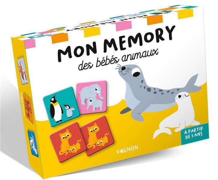 MON MEMORY DES BEBES ANIMAUX