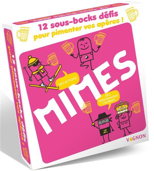COFFRET SOUS-BOCKS MIMES