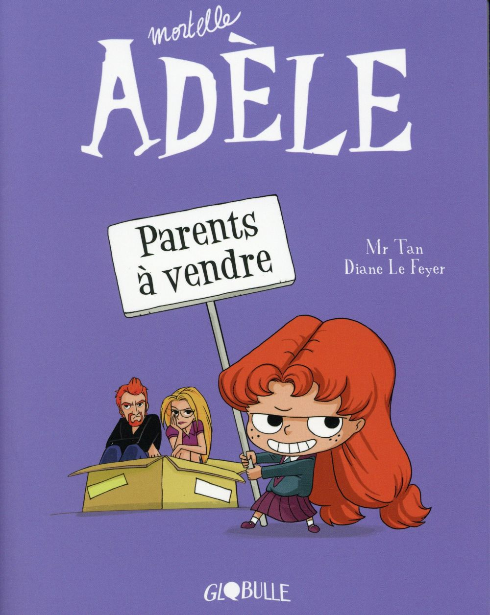 MORTELLE ADELE, TOME 08 - PARENTS A VENDRE Mr Tan Tourbillon
