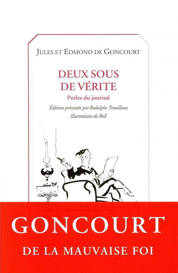 DEUX SOUS DE VERITE GONCOURT EDMOND DE CASTOR ASTRAL