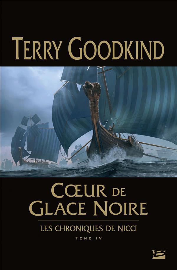 LES CHRONIQUES DE NICCI T.4  -  COEUR DE GLACE NOIRE