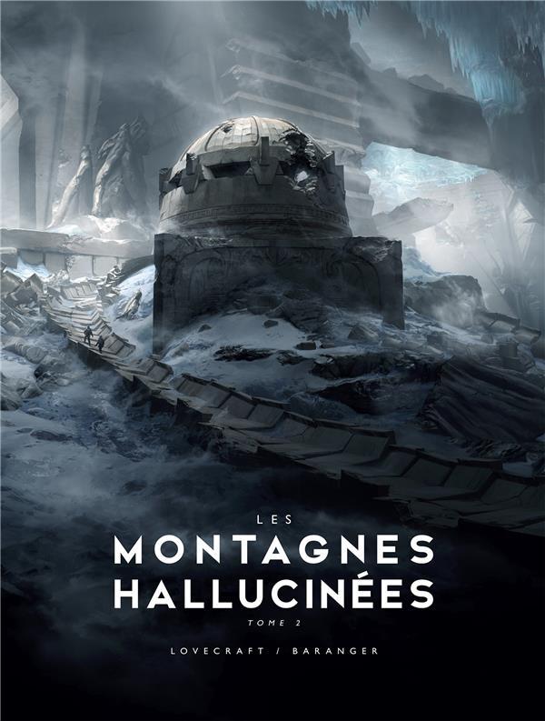 LES MONTAGNES HALLUCINEES T.2  -  ILLUSTRE LOVECRAFT, HOWARD PHILLIPS  BRAGELONNE