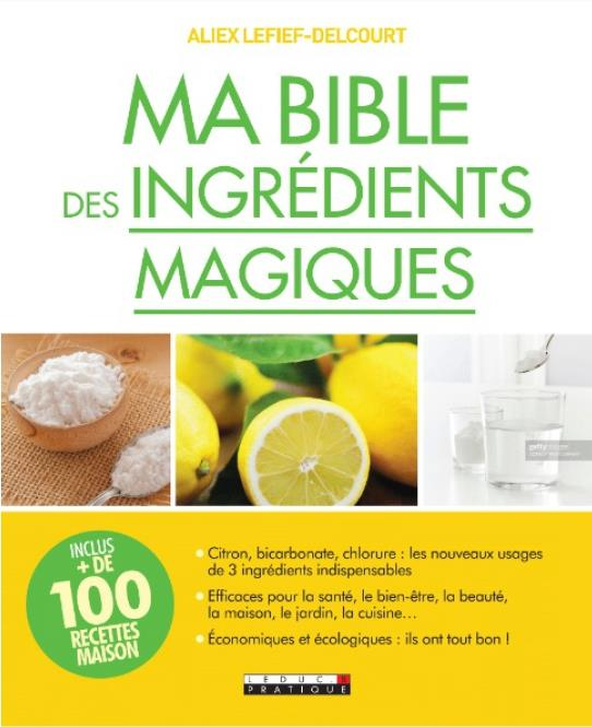 MA BIBLE DES INGREDIENTS MAGIQ LELIEF-DELCOURT ALIX QUOTIDIEN MALIN