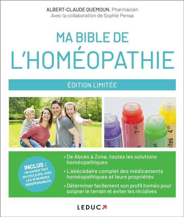 MA BIBLE DE L'HOMEOPATHIE QUEMOUN, ALBERT-CLAUDE QUOTIDIEN MALIN