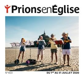 PRIONS EN EGLISE N.403  -  JUILLET 2020