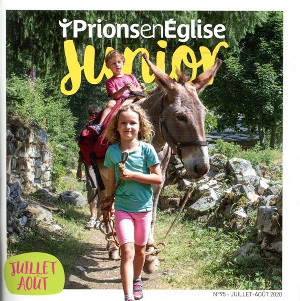 PRIONS EN EGLISE JUNIOR N.95  -  JUILLET 2020