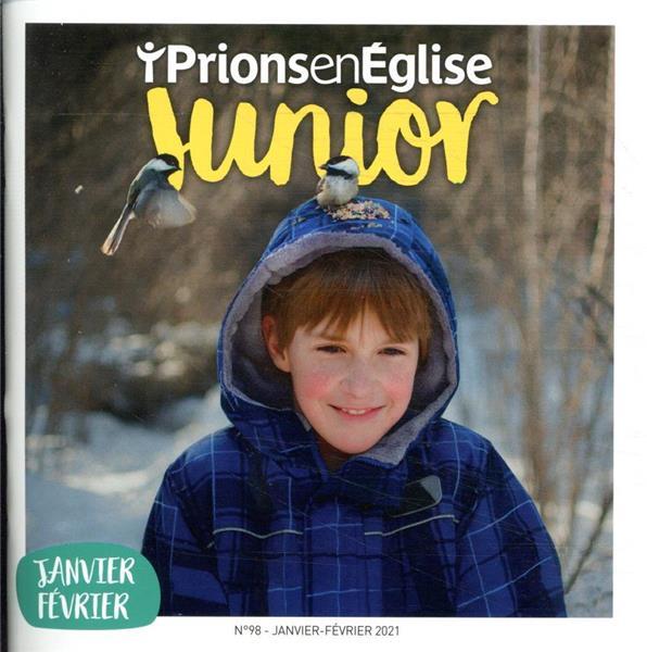 PRIONS EN EGLISE JUNIOR N.98  -  JANVIER-FEVRIER 2021
