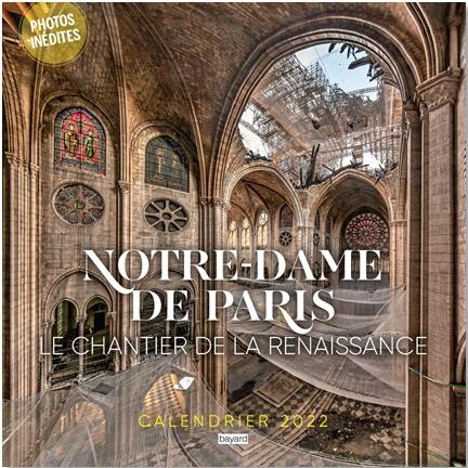 CALENDRIER NOTRE DAME DE PARIS 2022