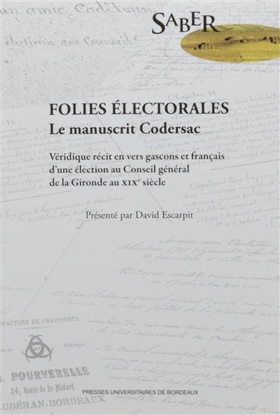 FOLIES ELECTORALES. LE MANUSCRIT CODERSAC